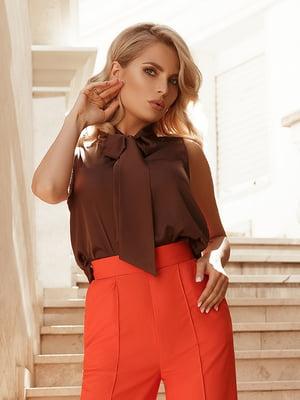 Блуза коричневая | 5096265