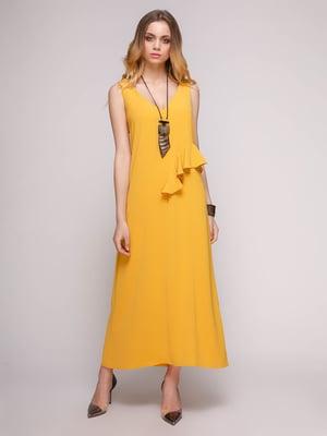 Платье горчичного цвета | 5092150