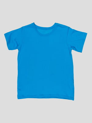 Футболка блакитна | 5082232
