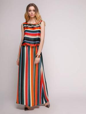 Платье в полоску   5092106