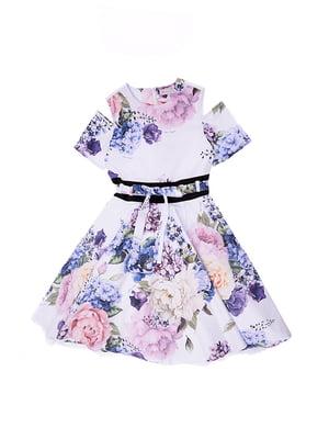 Сукня в квітковий принт | 5096614