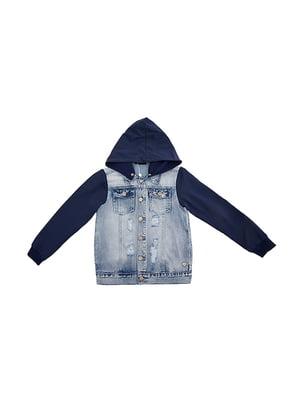 Куртка двоколірна | 5096689