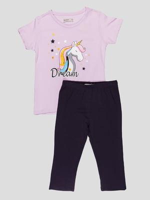 Комплект: футболка и леггинсы | 5089715