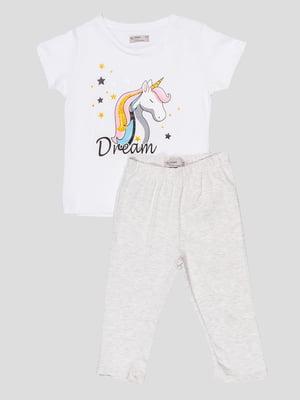 Комплект: футболка и леггинсы | 5089713