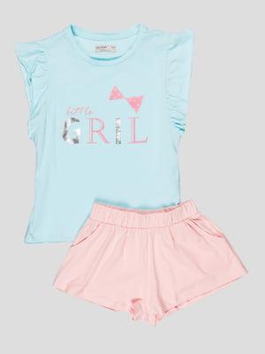Комплект: футболка и шорты | 5089718