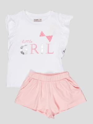 Комплект: футболка и шорты | 5089717
