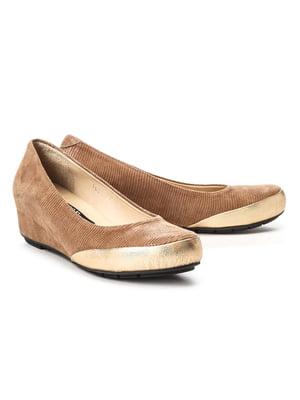Туфли золотисто-бежевые | 5091365