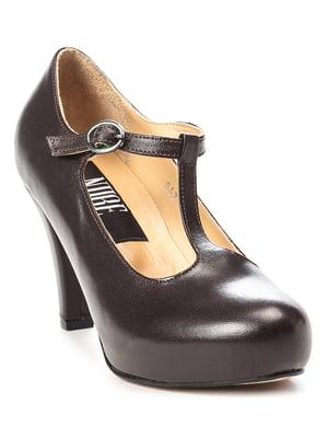 Туфли коричневые | 5091367