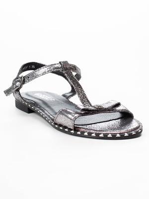 Сандалії сріблясті | 5091849