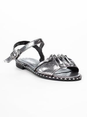 Сандалії сріблясті | 5091847