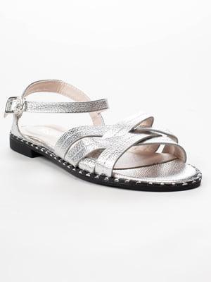Сандалії сріблясті | 5091842