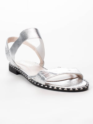 Сандалії сріблясті | 5091848