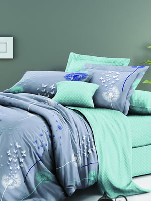 Комплект постільної білизни двоспальний (євро) | 5098401