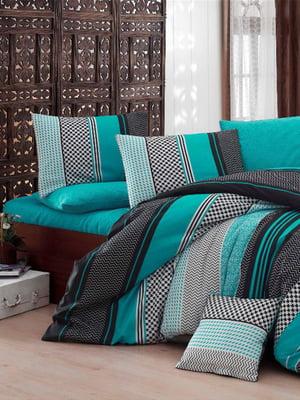 Комплект постельного белья двуспальный (евро) | 5098415