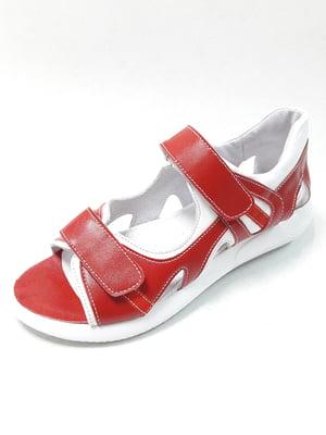 Сандалії червоні | 5098499