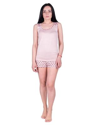 Пижама: майка и шорты | 5098940