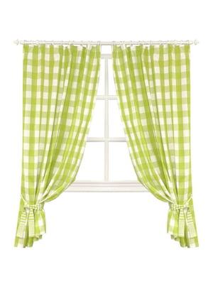 Комплект штор «Кантрі» зелена (170х136 см) | 5099016