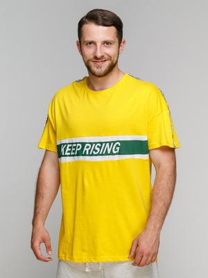 Футболка желтая | 5075376