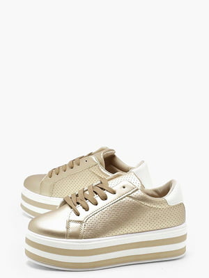 Кросівки золотистого кольору | 5099107