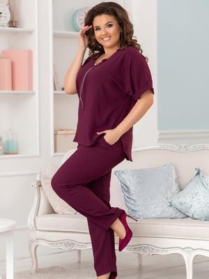 Костюм: блуза і брюки   5099325