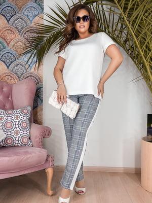 Костюм: блуза і брюки | 5099328