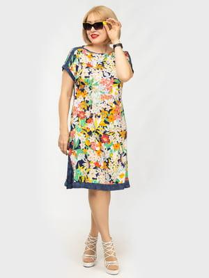 Платье в цветочный принт | 5099620