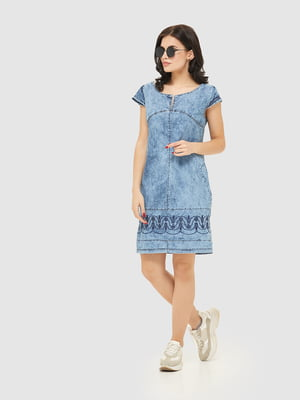Сукня синя джинсова | 4917991