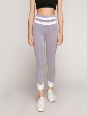 Легінси сіро-білі | 5089739