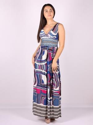Платье в принт | 5100476