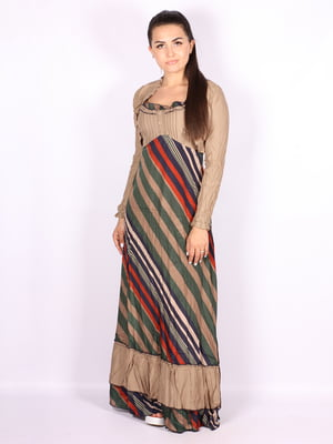 Платье в полоску | 5100500