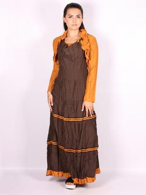 Платье двухцветное | 5100503