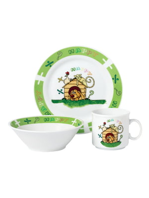 Набор детской посуды (3 предмета) | 5099855