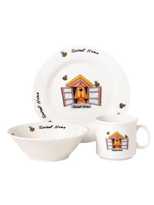 Набор детской посуды (3 предмета) | 5099857