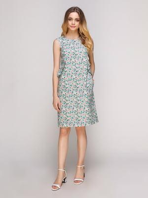 Платье в цветочный принт | 5092140
