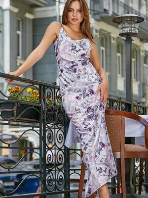 Платье в цветочный принт | 5100646