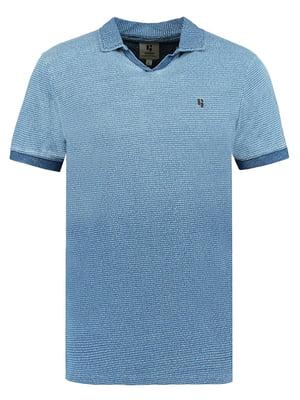 Футболка-поло синя | 5100890