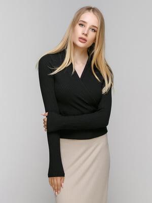 Пуловер чорний | 3222160