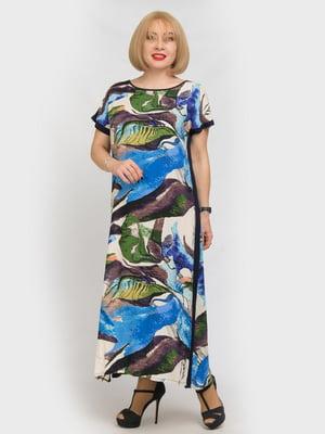 Сукня в принт | 5101220