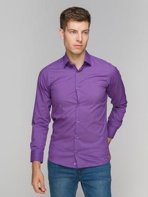 Рубашка фиолетовая   5086412