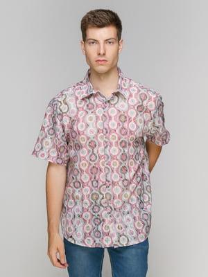 Рубашка в принт | 5086432