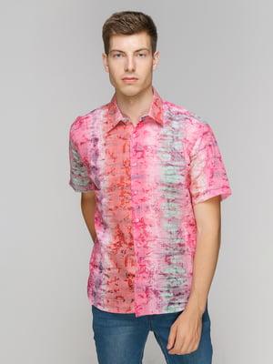 Рубашка в принт | 5086425