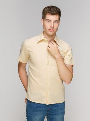 Рубашка бежевая | 5086410