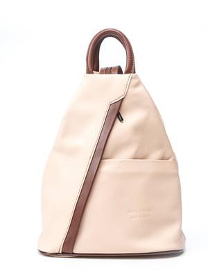 Рюкзак двоколірний | 5096767
