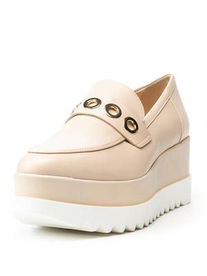 Туфлі бежеві | 5094322