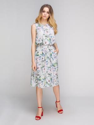 Платье в цветочный принт | 5096546