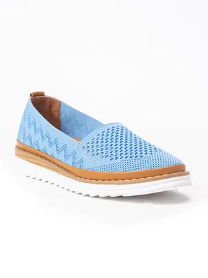 Туфлі блакитні | 4915408