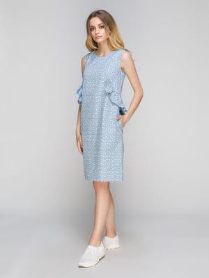 Платье голубое | 5096535