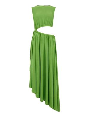 Платье зеленое - WareHouse - 5102993