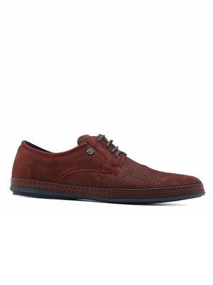 Туфлі бордові | 5102850