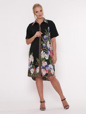 Платье в цветочный принт   5103791